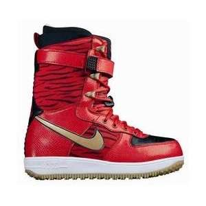 Nike SB NIKE SNOW ZOOM FORCE 1 (CHILLNG RED): Sports