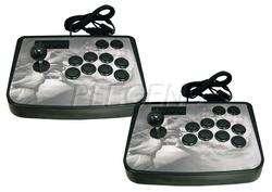 PS3/PS2/PC Street Fighter 4 Tekken Arcade JoyStick Fight Pad Stick x 2