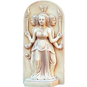 Hecate Greek Triple Goddess Statue   G 089S: Everything