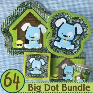 Boy Puppy Dog Baby Shower Party Supplies & Ideas   64 Big
