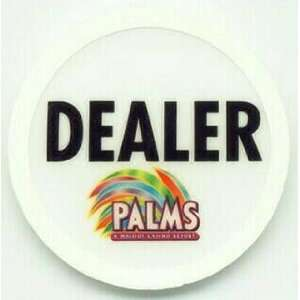 Palms Hotel Las Vegas Jumbo Poker Dealer Button: Sports