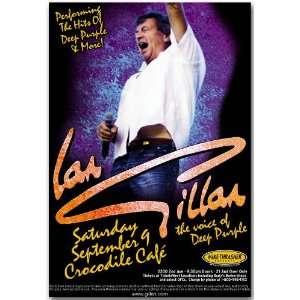 Ian Gillan Poster   Concert Flyer