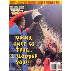 WWF Wrestling Magazine  The Godwinns Slop Sunny (1996) WWE Books