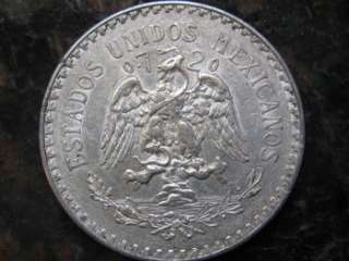 1938 One Beautiful Mexico Silver Peso Coin Bullion Round