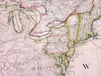 1794 Kitchin Pownall Large Antique Map of North America