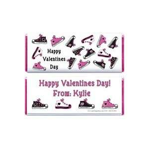 VAL208   Valentines Day Shoes Candy Wrappers Kitchen
