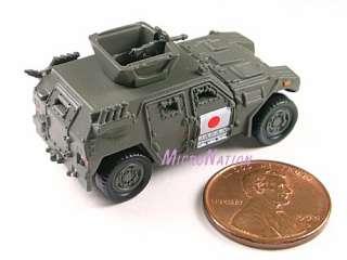 07 Furuta Combat Vehicle Mini Model JGSDF Light Armour