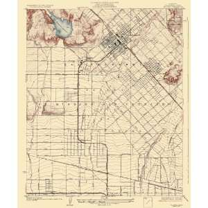 USGS TOPO MAP PACOIMA QUAD CALIFORNIA (CA) 1927 Home