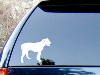 American Bulldog Vinyl Decal Sticker / Color Choice   HIGH QUALITY