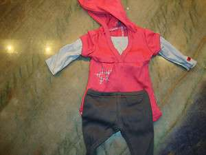 AMERICAN GIRL DOLL HOODIE OUTFIT NEW