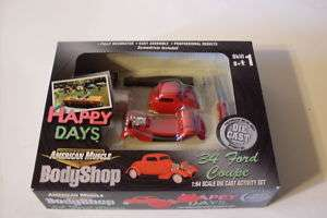 2001 ERTL AMERICAN MUSCLE BODYSHOP 34 FORD COUPE