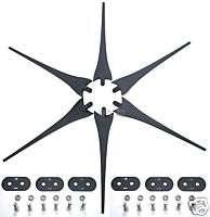 64 Wind Turbine Generator Blades AMETEK motors