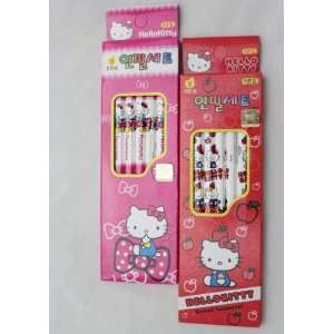 Imported Sanrio Hello Kitty School Supplies Pink & Red 10