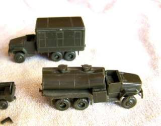 Roco HO Model Army Military Troop Transport trucks tanks cars