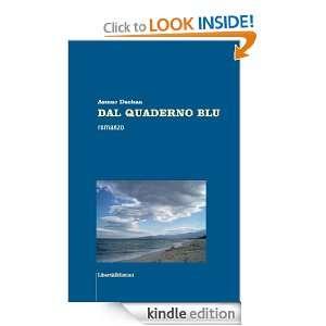 QUADERNO BLU (Italian Edition) Asmae Dachan  Kindle Store