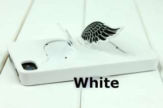 3D Design Angel Wings Hard Case Cover for iPhone 4 4G