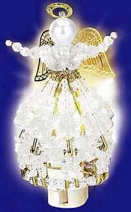 Beaded Night Light Kit with Bulb ~ CRYSTAL ANGEL