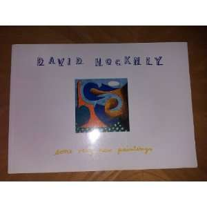 Hockney Some Very New Paintings (9781872878034) David Hockney Books