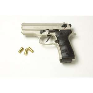 Dicle 8000 Blank Firing Replica Pistol   Satin Silver