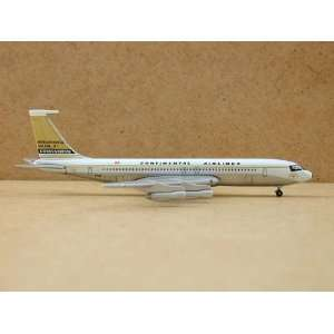 Gemini Jets B707 Continental Airlines Model Airplane