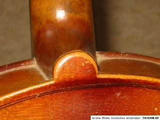 old 4/4 Violin NR violon Ant. Galla