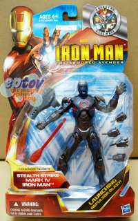 Hasbro Iron Man legends Series Stealth Strike Mark IV