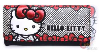 Sanrio Hello Kitty Big Red Bows Leather Wallet   Loungefly