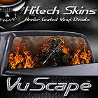 Vuscape Truck Rear Window Graphic   SKULL CREST items in Graphics