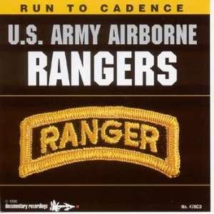 Run To Cadence US Army Airborne Rangers Audio CD