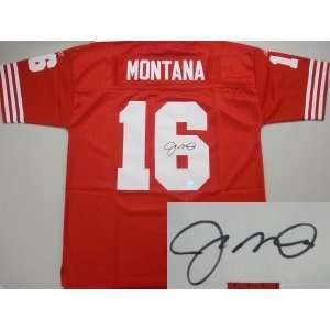 Joe Montana San Francisco 49ers Reebok Authentic Jersey