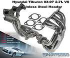 2003 2007 FULL STAINLESS STEEL RACING TYPE EXHAUST 2.7L DOHC V6 HEADER