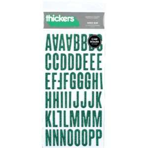 Alphabet Stickers 6x11 Sheet shoe Box shamrock 3Pk: Home & Kitchen