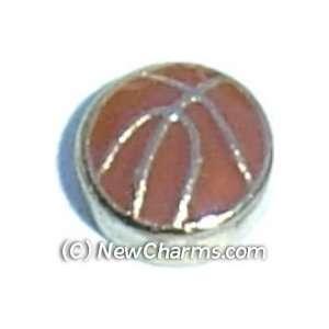 Basketball Floating Locket Charm Jewelry