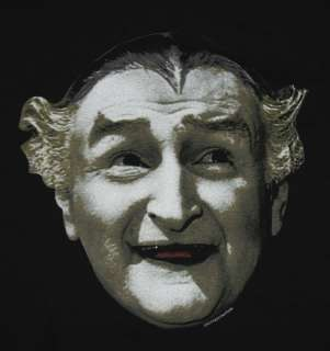 Munsters Grandpa Munster Face Funny TV Show Soft T Shirt Tee