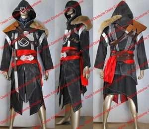 Assassins Creed Revelations Ezio cosplay costume Ezio black