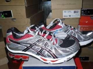 ASICS Mens GEL KINETIC 2 Sneaker Black/ Red szs 10   13