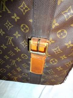 AUTH LOUIS VUITTON MONOGRAM 50 SATELITE TRAVEL DUFFLE BAG