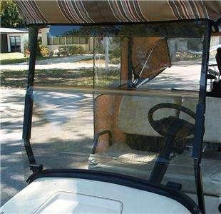 Par Car Golf Cart SPLIT Winddshield 1999   2010 Demonstrator
