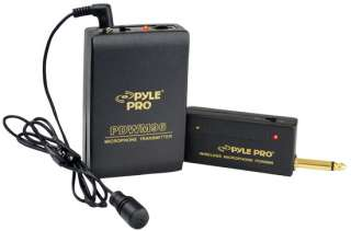 NEW PYLE   PDWM96   Lavalier Wireless Microphone System