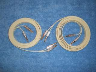 Monster High End Speaker Wire 10 foot pair audiophile Nakamichi gold