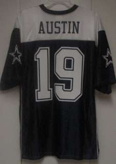 By Dallas Cowboys MILES AUSTIN Jersey MENS Navy Blue White New ALL SZ