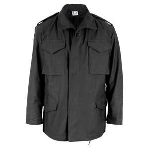 US Mil Spec M 65 Field Coat w/Liner, Black, XL, Long