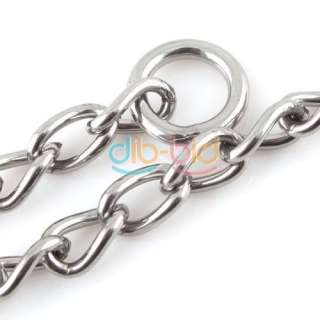 Metal Choke Link Chain Pet Dog Collar Great For Training Hot #S