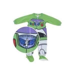Disney PIXAR Toy Store BUZZ LIGHTYEAR 1 Piece BLANKET SLEEPER (Size 3T