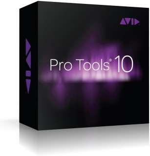 Avid Pro Tools 10 DAW Software Full Version   Boxed New
