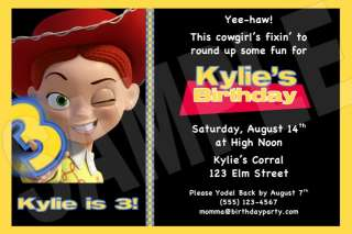Toy Story PERSONALIZED Custom Invitations