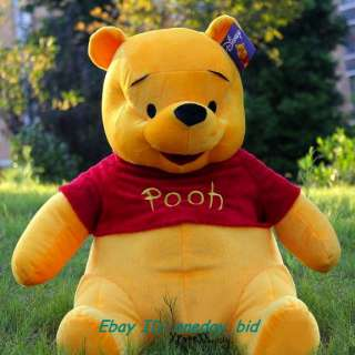 New Giant Plush Winnie Pooh Bear Doll Toy 100cm/38 H