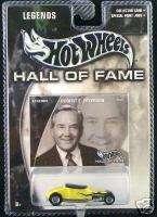 HOT WHEELS Hall of Fame Legends Robert E. Petersen NIP