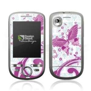 Design Skins for HTC Tattoo   Pink Butterfly Design Folie