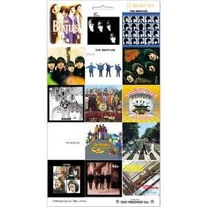 Beatles Album Cover Scrapbook Stickers Arts, Crafts